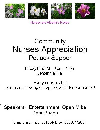 NursesAppreciation invitation public
